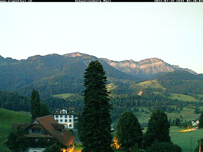 Webcam Schwarzenberg-Matt
